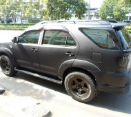 FORTUNER FULL WRAP BLACK MATTE