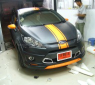 FORD FIESTA BLACK MATTE