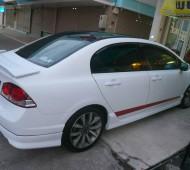 HONDA Civic Fd Full Wrap White matte @ สาขาชลบุรี