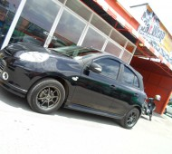 NISSAN MARCH_HALF WRAP DIMOND DUST