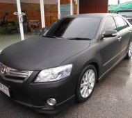 CAMRY_FULL WRAP BLACK MATTE