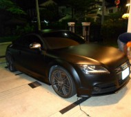 AUDI_TTS FULL WRAP BLACK MATTE