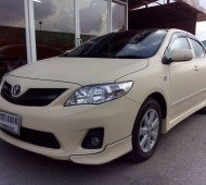 Toyota Altis Full Wrap Beige Matte Oracal 651No.082