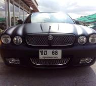 Jaguar XJ full Wrap Black Matte ดุ ดิบ เถื่อน