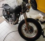 SR400 CLASSIC Black Matte