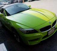 BMW Z4 Full Wrap light Green