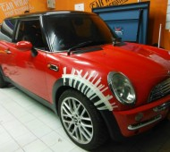 Mini Cooper Full Wrap GLOSS RED