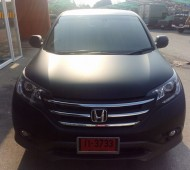 Honda CRV full wrap black matte
