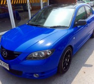 Mazda3 full wrap reflex blue gloss film