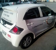Marketing Vehicle Wrap Coffee Work
