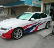 BMW series 3 E93 Thailand Flag Design
