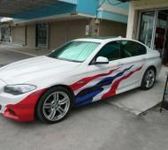 BMW series 3 E93 Thailand Flag Design