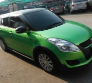 NEW SWIFT NEW COLORS Green Mattalic HALF WRAP