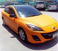 MAZDA 3 ตัวก่อนเปลี่ยนโฉม....Full Wrap Orange Matte