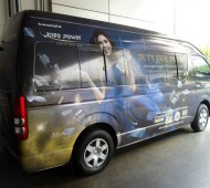 Vehicle Wrap Marketing King Power 11 คัน