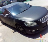 Camry full wrap black matte