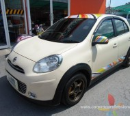 NISSAN MARCH PAUL SMITH Cuve Design