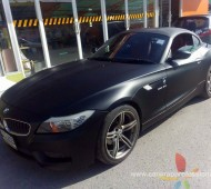 Z4 full wrap black matte