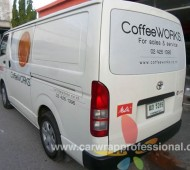 COffee Work_รถตู้+Brio Vehicle