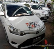 Vehicle Wrap Vios ทีมข่าว MONO29 NEWS