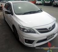 Toyota Altis ติดขาวเงา