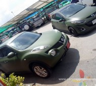 Nissan JUKE Full Wrap 3M1080 Military