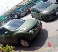 Nissan JUKE Full Wrap 3M1080 Military