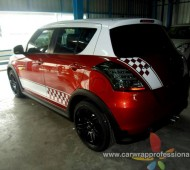 SWIFT HALF WRAP White Sport Racing