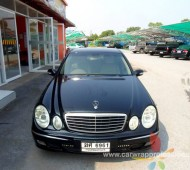 Benz E220 Full Wrap Black Gloos