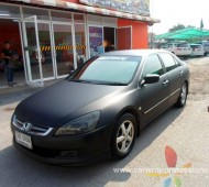 Honda Accord Full Wrap Black Matte