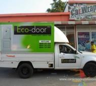 Truck ECO-DOOR แบบ Vehicle Marketing Wrap
