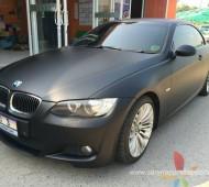 BMW E92 FULL Wrap Black Matte