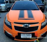 Chevrolet Cruze Matte Orange Bumble B