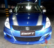 Swift Half Wrap V racing