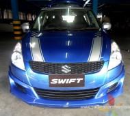 Swift Half Wrap V racing