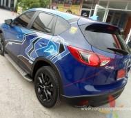 Mazda CX5 Map Design
