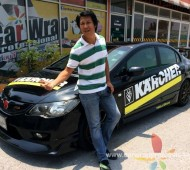 CIVIC Full Wrap_KARCHER Racing