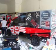 Vehicle Maketing Wrap ทีมเซอร์วิส S9
