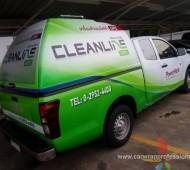 Vehicle Marketing Wrap รถขนส่ง Power Metic