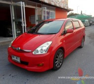 Toyota WISH Full Wrap RED SEED
