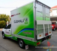 Vehicle Marketing Wrap รถขนส่ง Power Metic