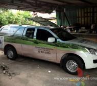 Pikup เครื่องใช้ไฟฟ้า SIEMENS 3 คัน งาน Vehicle Wrap Marketing