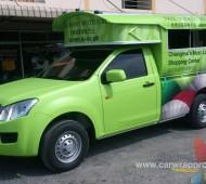 CENTRAL Chiangmai FREE TOURIST Wrap Car Projec