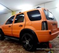 Ford Escape Full Wrap Orange Matte 035M