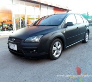 Ford Focus Black Matte Full Wrap