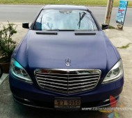 S CLASS Full Wrap 1080 BR217_Brushed Blue Steel