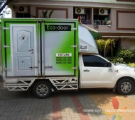 Vehicle Marketing Wrap ECO-DOOR