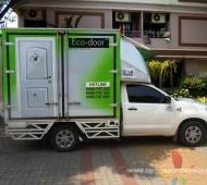 Vehicle Marketing Wrap ECO-DOOR