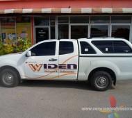 Widen Vehicle Sticker Graphic Design