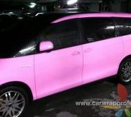 Toyota Estima Pink Matt หวานๆ ใสๆ